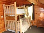 Third Floor Bedoom with Bunk Bed at Mountain Music