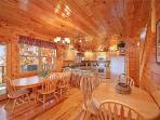 Dining Area at Hickernut Lodge