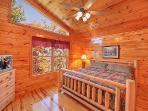 Third Floor Bedroom at Hickernut Lodge
