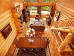 Dining and Living Rooms at God's Country