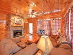 Living Room at Hickernut Lodge