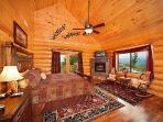 Main Floor Bedroom at God's Country