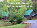 Resort Entrance at God's Country