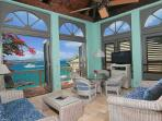 A tour of Suite 1D follows: 7 photos (Oceanfront Loft Suite, upper)
