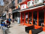 A safe hip Brooklyn neighborhood with lots of charm.