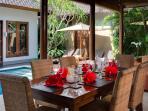 5. Lakshmi Villas - Kawi - Dining