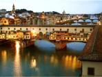 Ponte Vecchio on the Arno river