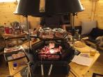 Perfectly situated to host the ultimate grilled food feast
