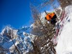 Why not try snow sledding, go-karting in the snow or ice climbing?