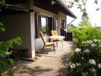 Ferienhaus 'Meike' Terrasse
