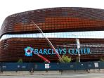 Two subway stops or a quick bus ride to Barclays Center