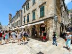 Dubrovnik old city center