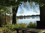 Secluded lakeside picnic spots can be found all over the Estate