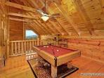 Lofted Game Room at Majestic Mountain View