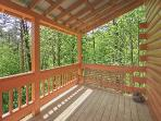 Covered Deck with Swing at Sunshine Day Dream