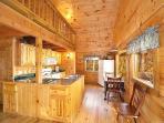 Kitchen at Licklog Hollow