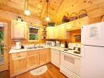 Kitchen Area at Smoky Bears Creek