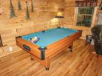 Pool Table at Bearly Mine