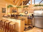 Kitchen at Elk Ridge Lodge