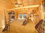 Main Floor Bedroom at Elk Ridge Lodge
