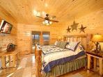 First Floor Bedroom at Elk Ridge Lodge