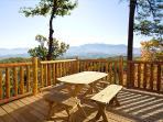 Deck at Elk Ridge Lodge