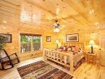 Main Level Bedroom at Incredible!