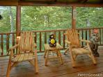 Deck at A Bear's View