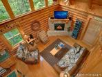 Living Room at A Bear's View
