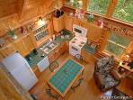 Kitchen at A Bear's View