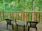 Back Deck at A Bear's View