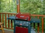Gas Grill at A Bear's View