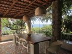 patio -dining area