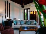 Villa Umah Daun - Sitting enclave