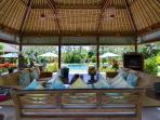 5. Surya Damai - Outside living area