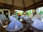 6. Surya Damai - Dinner setting