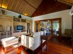 7. Surya Damai - Indoor TV room