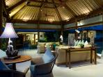 23. Surya Damai - Living room at night