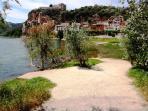 River Ebro - Village Miravet