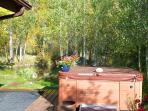 Hot Tub Overlooking River