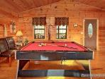 Pool Table on Main Level at Paradise View