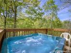Hot Tub at Wild Kingdom
