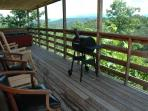 Covered Deck with Views at A Panoramic View