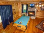 Living Room at Moonlight In The Boondocks