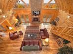 Living Room at Big Sky Lodge