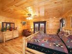 Master Bedroom at Big Sky Lodge
