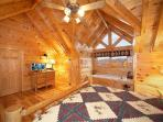 Second Floor Bedroom at Big Sky Lodge