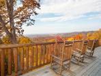 Deck at Big Sky Lodge