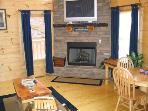 Living Room at Hero's Hideaway