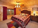 First Floor Bedroom at Lookout Lodge